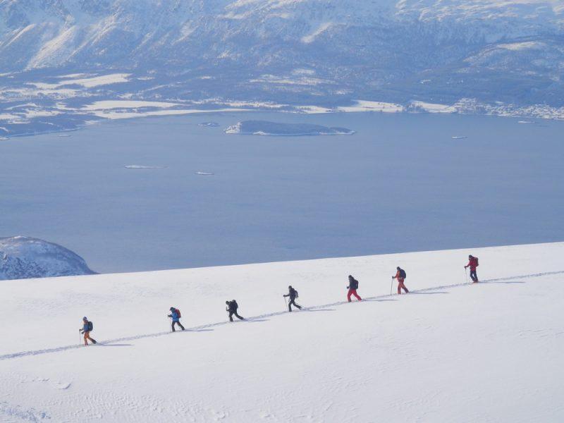 Geführte Skitouren Norwegen Lyngen Heini Lechner I peak-experience
