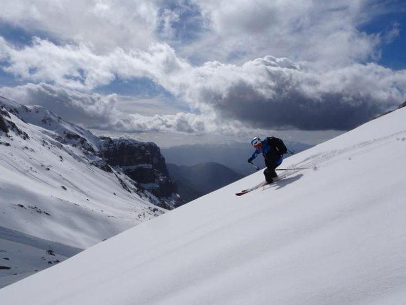 Geführte Skitouren Griechenland Meteora I peak-experience